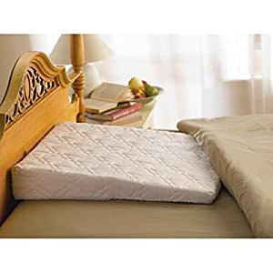 Amazon Com Sleep Wedge Pillow With Extra White Quilted