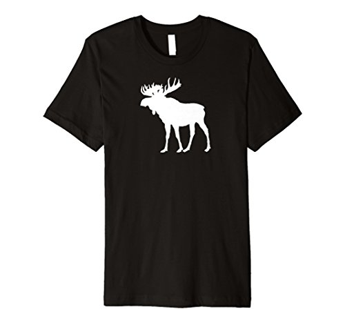 (Simple Moose T-Shirt for Adults Men Women Kids Youth )