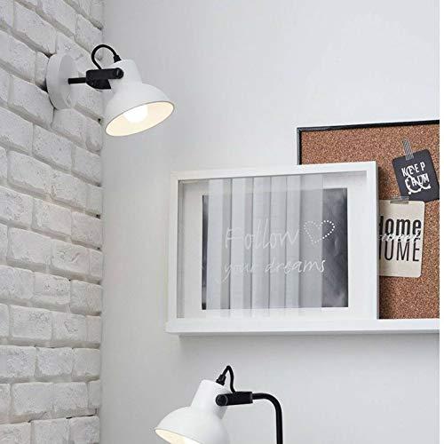 ESTER-Applique murale M/étal avec interrupteur L21cm blanc mat Brilliant