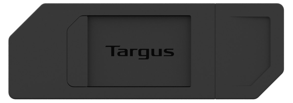 Targus Spy Guard Sliding Webcam Cover, 1.56 x 0.56 x 0.05 Inches, Black (AWH013US) 10-Pack