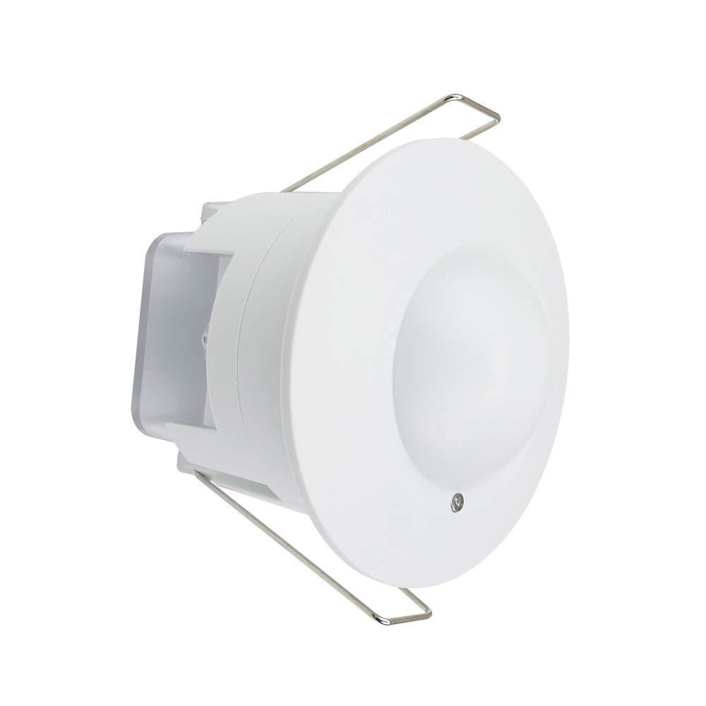 Cablematic - Detector de Movimientos Empotrado Techo con Control de Tiempo luz y Distancia Cablematic.com PN15121518200127718