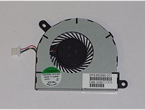 wangpeng Generic New CPU Cooling Fan For HP Envy Spectre XT 13 Laptop 692890-001 EG50050S1-C010-S9A 4-PIN