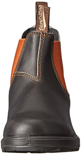 Blundstone Unisex Original 500 Series Stout Brown / Burnt Orange