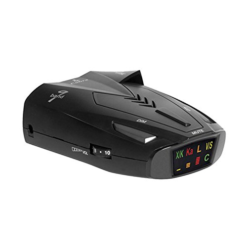 COBRA ESD-9275 Digital 9 Band Laser Radar Detector w/ Safety Alert & LaserEye (Best Undetectable Radar Detector)