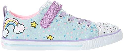 Skechers Kids Girls' Sparkle LITE-Unicorn Craze Sneaker, Light Blue/Multi, 9 Medium US Toddler by Skechers (Image #6)