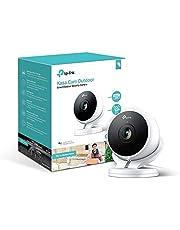 TP-LINK KC200Kasa Smart Indoor/Outdoor Cloud de cámara, 1080p HD, Sirena integrada con visión Nocturna, de 2Vías de Audio