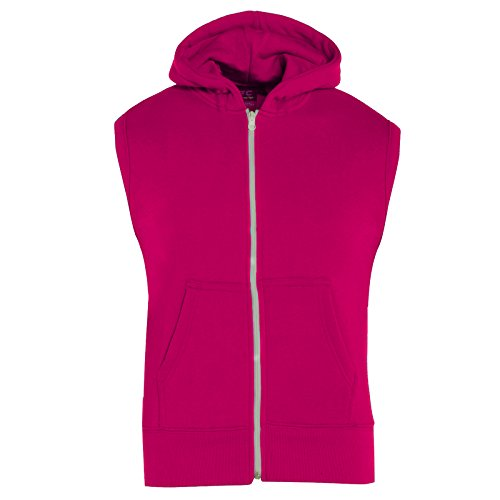 A2Z 4 Kids Kids Girls Boys Plain Gilet Fleece Hoodie Zipper Sleeveless Jacket