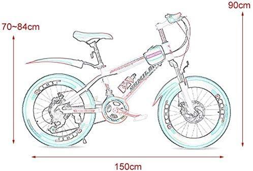 GZCC Bicicletas Niño Niña Bicicleta Estudiante Bicicleta de ...