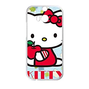 DAZHAHUI Hello kitty Phone Case for HTC One M8 case BY RANDLE FRICK by heywan