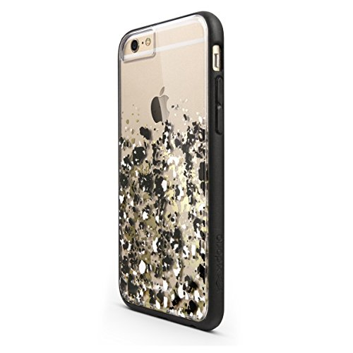 iPhone 6s/6 X-Doria Scene Plus TPU & Polycarbonate Snap-On Protective Designer Shell, Gold Digital - Agent Shield Shock 18