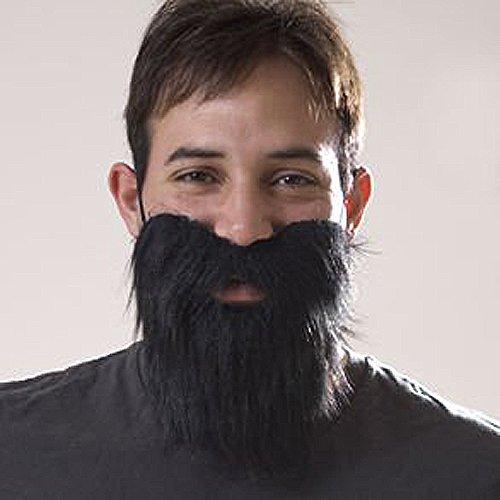 Halloween Fake Beard Black (Beard Halloween)