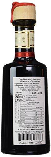 Acetaia Leonardi La Corte 5 Year Old Balsamic Vinegar 8.45 Ounce. - 250 ml 4 Acetaia Leonardi La Corte Aged a minimum of 5 years