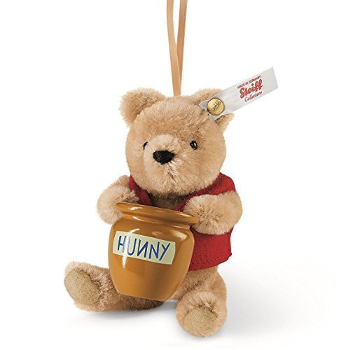 Winnie The Pooh with Honey Pot Ornament by Steiff