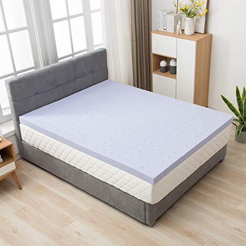 LAGRIMA 4 Inch Full Size Gel Infused Memory Foam Mattress To