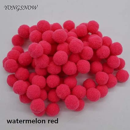 Amazon.com: Bolas de pompón – 100 unidades de lote de 18 ...