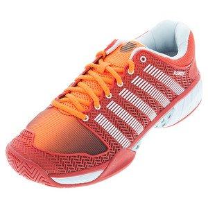 K-Swiss Men's HyperCourt Express Tennis Sneaker Shoe SOFT ORNGE/FIERY RED ldqBgiD