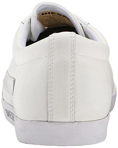 Diesel Hombres Bikkren Fashion Sneaker Blanco