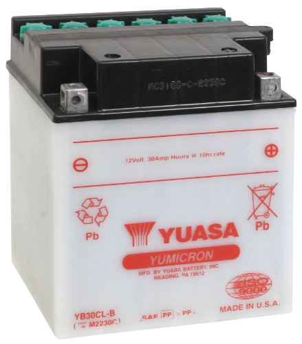 Yuasa YUAM2230C YB30CL-B Battery ()