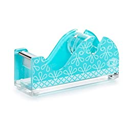 Roomlookz Acrylic Tape Dispenser - Aqua