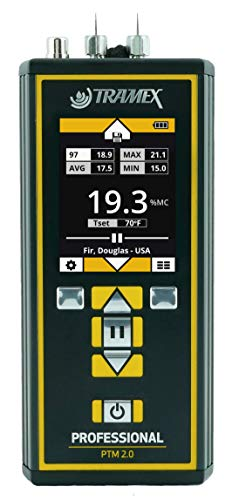 Tramex PTM2.0 Pin-Type Moisture Meter for Wood