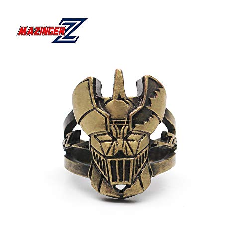 - Dan's Collectibles and More Mazinger Z Ring Bronze Japanese Giant Robot Anime Manga Cosplay Bronze Size 8 18mm w/Gift Box (8) (Logo)