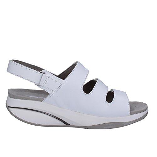 MBT Mujer zapatos con correa Blanco