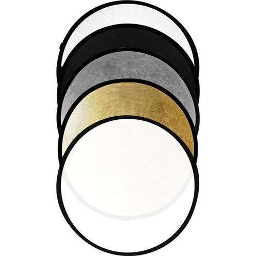 Savage 22'' 5-in-1 Round Photo Reflector by Savage