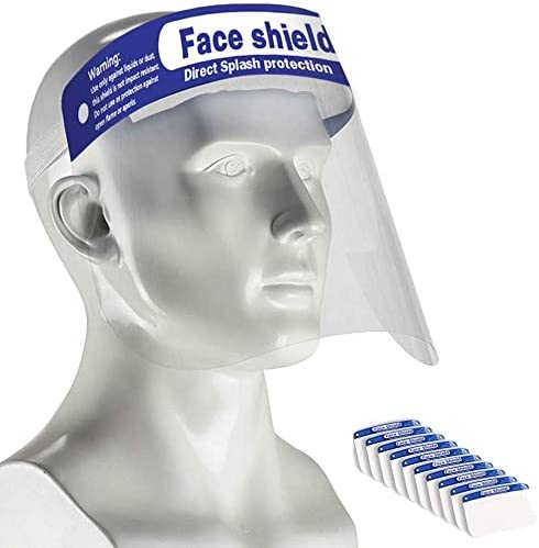 Safety Reusable Face Shield Protector Anti-Splash Anti-spray Adult Cover