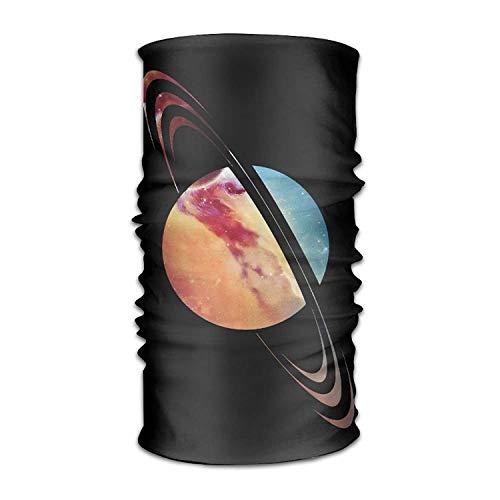 THAIDIY Saturn Galaxy Headwear Bandanas Seamless Headscarf Outdoor Sport Headdress Running Riding Skiing Hiking Headbands 19.7x9.85(Inch)/50x25(cm)