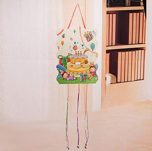 Best Quality - Party DIY Decorations - Pcs Kawaii Hanging Happy Birthday Pinata Party Toy Kids Gifts Party Favors Accessories Decorations - by Viet JK - 1 PCs -