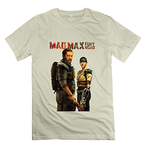 Costumes Beyond Mad Max Thunderdome (AOPO Mad Max 4 Fury Road O-Neck Tee Shirts For Men Small)