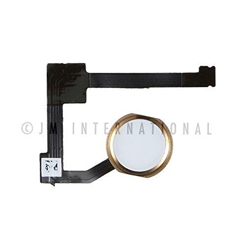 ePartSolution_iPad Mini 4 A1538 A1550 Home Button Module Flex Cable Fingerprint Sensor Flex Menu Key Gold Replacement Part USA Seller