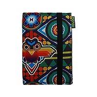 Porta pasaporte Huichol