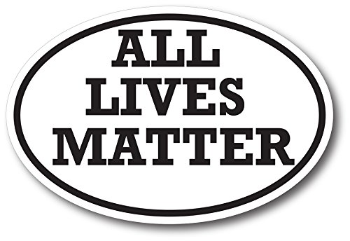 All Lives Matter Magnet Decal - Heavy Duty for Car Truck SUV