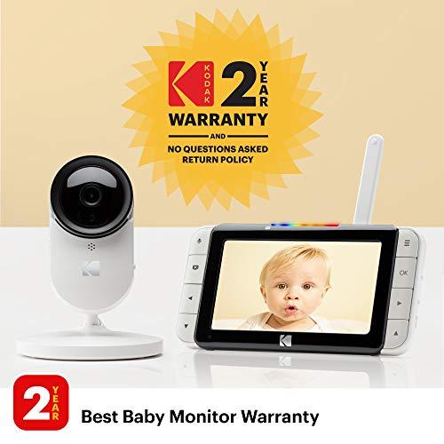 "KODAK Cherish C520 Video Baby Monitor — 5"" HD Screen"