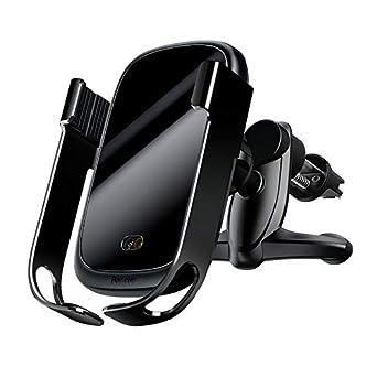 Baseus Wireless Car Charger Mount, Automatic Clamping Gravity Sensor Car Phone Mount