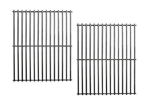 Hongso SCI812 stainless steel Rod Cooking Grid/Cooking Grates Replacement for Brinkmann, Grill Master, Nexgrill and Uniflame Gas Grills, Set of 2 by Hongso