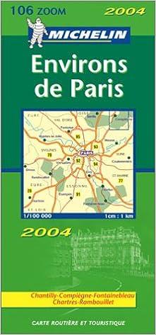 Téléchargement Carte routière : Environs de Paris-départements 78-92-93-94-95 pdf ebook