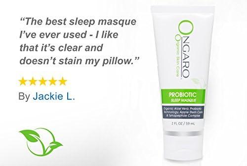 Probiotic Sleep Mask; Organic Hydrating Night Mask Firms & Tones Skin While You Sleep, Anti-Aging Hyaluronic Acid & Vitamin E | 2oz