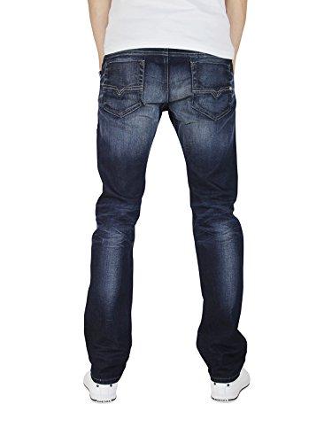 Diesel Safado 0833N 833N Herren Jeans Hose Regular Slim Straight Blau Dunkelblau