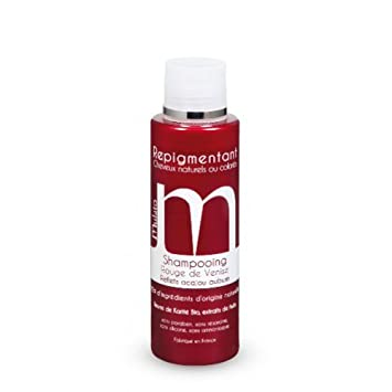 mulato shampooing repigmentant rouge de venise contenance 200 ml - Shampoing Colorant Rouge