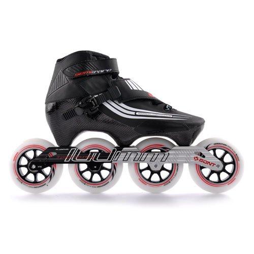 Bont Speed Skates semirace 100mm Nero