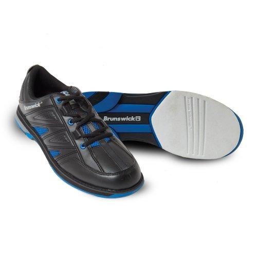 Brunswick Warrior - Calzado de bolos para hombre Azul