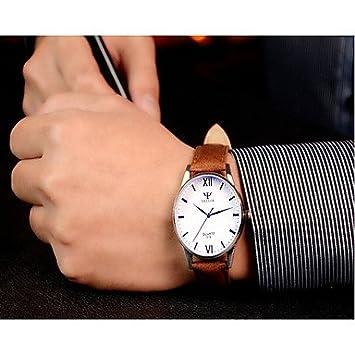 XKC-watches Relojes para Hombres, Yazole los Hombres Relojes de Moda Ronda Relojes Romanos