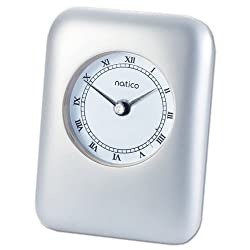 Natico Pearl Contempo Alarm Clock (10-P604)