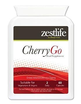 Zestlife CEREZA GO Montmorency cereza 550mg 60 Caps . Cerezas Montmorency se han descubierto para ser una rica fuente de antioxidantes , y flavonoides ...