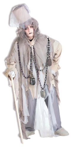 Costume De Couple Original (Forum Novelties Men's Jacob Marley The Original Christmas Spirit Costume, Multi, Standard)