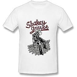 Best White T Shirt For Men Folk Rock Shakey Graves Tour 2016