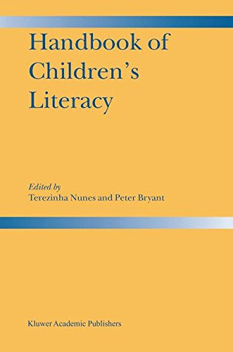 Handbook of Children's Literacy