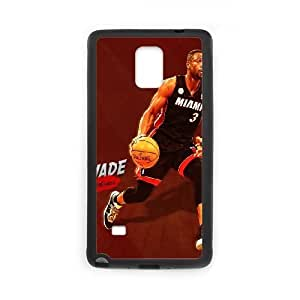 Dwyane Wade Samsung Galaxy Note 4 Cell Phone Case Black Pducm